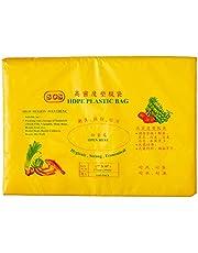 Alpak Disposable HDPE Transparent Plastic Bag, 7 x 10