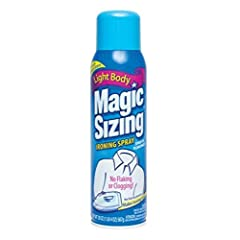 Faultless Starch 00502 Magic Sizing Fabric Finish, 20 oz 3 Pack