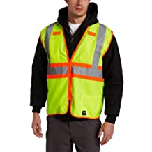 Key Apparel mens Ansi Class Ii High Visibility Solid Vest