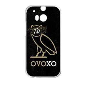 Protection Cover HTC One M8 White Phone Case Grmtl Drake Ovo Owl Personalized Durable Cases