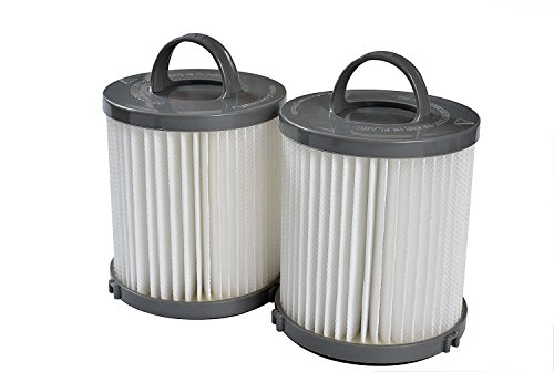 Eureka Upright Capture Bagless - 2 pack for DCF21 Eureka Washable & Reusable HEPA Vacuum Filter for all Eureka and Sanitaire Air Speed Bagless Upright Vacuums 67821, 68931, 68931A, EF91, EF-91, EF-91B. Designed by Gold Line