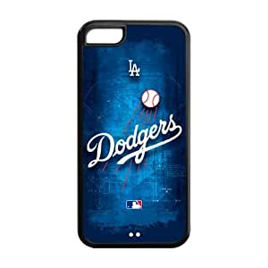Customize MLB Los Angeles Dodgers Back Case for iphone 5s for you JN5s for you-1229