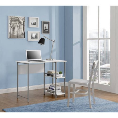 White Student Desk - Mainstays 9120596W Basic Student Desk, White Color (White)