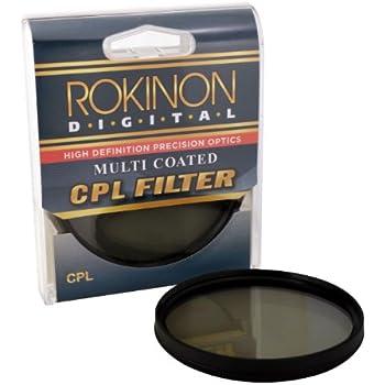 Rokinon 58 Multi-Coated Circular Polarizer Filter (CPL) CPL58