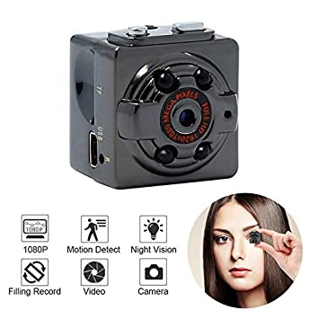 GAX Mini Cámara, Cámara De Vigilancia Casera De La Seguridad del Pequeño HD De 1080P