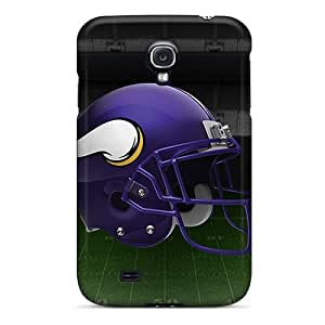 High Quality Shock Absorbing Case For Galaxy S4-minnesota Vikings