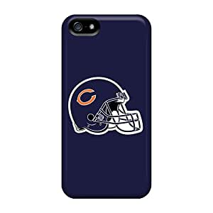 TvG4545vHlW Case Cover Protector For Iphone 5/5s Chicago Bears 5 Case