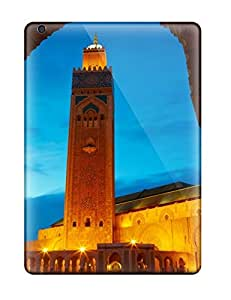 Ipad Air Case, Premium Protective Case With Awesome Look - Hassan Ii Mosque