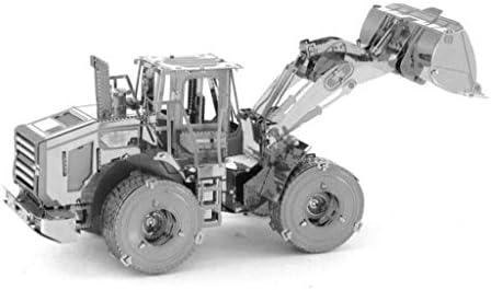 ローダー3D金属モデルキットパズル(シルバー/マルチカラー)14+ (Color : Silver)