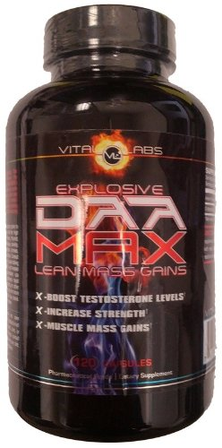 DAA Max D-Aspartic Acid by Vital Labs