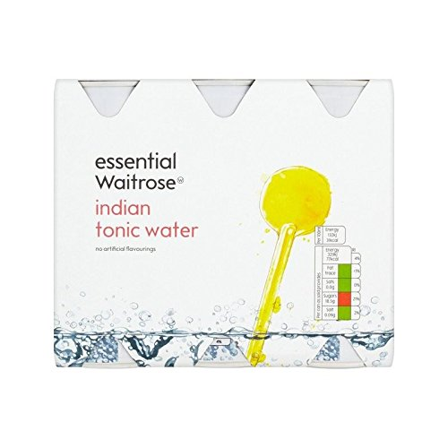 Indian Tonic Water essential Waitrose 6 x 250ml (Pack of 6) by WAITROSE