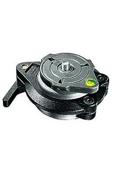 Manfrotto 438 Boule de mise /à niveau compact en aluminium Noir