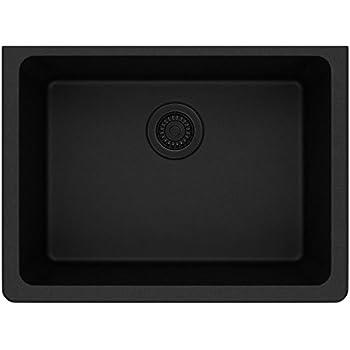 Elkay Quartz Classic ELGU2522BK0 Black Single Bowl Undermount Sink