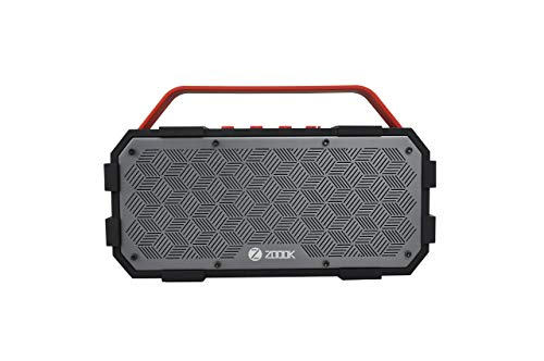 Zoook Rocker Torpedo Wireless Portable Waterproof Bluetooth Speaker with Built in Subwoofer, Superior Stereo Sound, Rich Bass, 50 Watts of Power – IPX5 Water Resistant