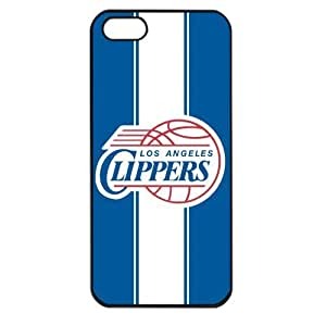 NBA Los Angeles Clippers Logo Case For Ipod Touch 4 Cover PC Soft (Black)