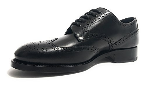 Harris - Zapatos de cordones de Piel para hombre negro negro