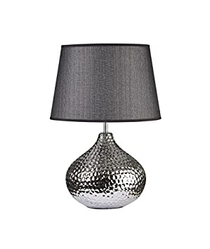 Hauteur Céramique En Abat Jour A Lampe Poser Forme 51 Cm Sphere Avec TlFKJc13