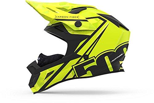 509 Altitude Carbon Fiber Helmet - Hi-Vis with Fidlock - MD