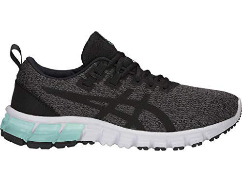 ASICS Women's Gel-Quantum 90 Running Shoes, 8M, Dark Grey/Black