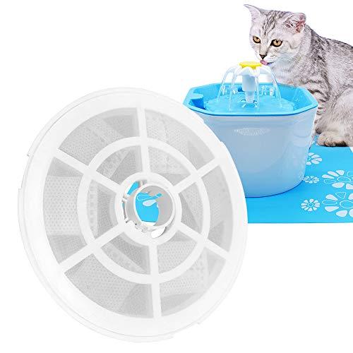 Hooshion Automatic Cat Dog Water Fountain Electric Pet Drinker Bowl Dispenser,1.6L Octagonal Shape with Super Quiet Pump…