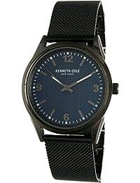 Kenneth Cole Men's 10031384 Black Stainless-Steel Quartz Watch