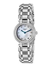 Longines Women's L81090876 Primaluna White MOP Watch