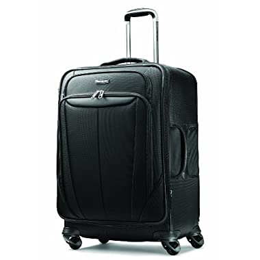 Samsonite Luggage Silhouette Sphere Expandable 29 Inch Spinner, Black, One Size