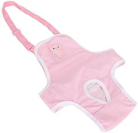Fysiologische broek voor huisdieren roze kleur zeer absorberend voor hygineM