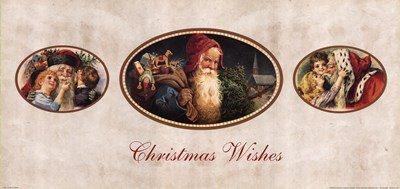 Christmas Wishes - Art Print Poster