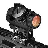 EZshoot 1x25mm 2MOA Hirise Red Dot Sight Optics Scope