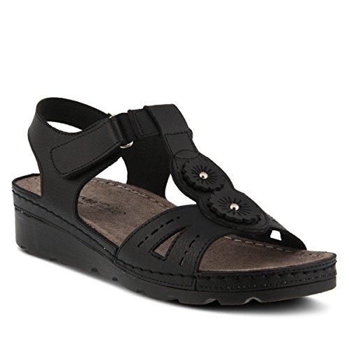 Flexus Kvinna Stil Silas Svart Eurostorlek 37 Syntetisk Sandal