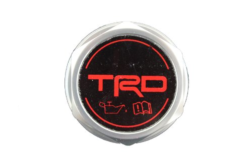 Genuine Toyota Accessories PTR35-00110 Forged Billet Aluminum TRD Oil Cap by Toyota