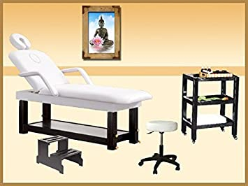 Cabina silla masaje mesa – mesa auxiliar – Base – Taburete ...