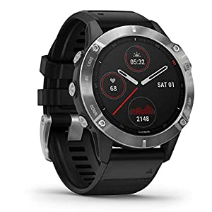 Garmin fēnix 6, Ultimate Multisport GPS Watch, Heat and Altitude Adjusted V02 Max, Pulse Ox Sensors and Training Load…