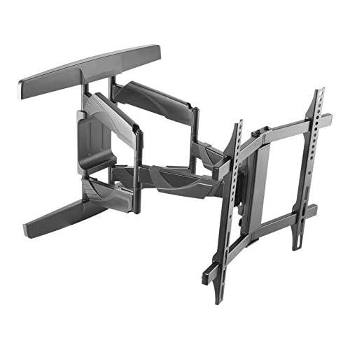 chollos oferta descuentos barato IBRA Soporte de Pared Giratorio e inclinable para Flat Curved TV s de 32 65 80 165 CM MAX Vesa 400x400 Máximo 45kg 99lbs Color Negro