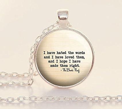 Amazon.com: The Book Thief Quote - Markus Zusak - Book Thief ...