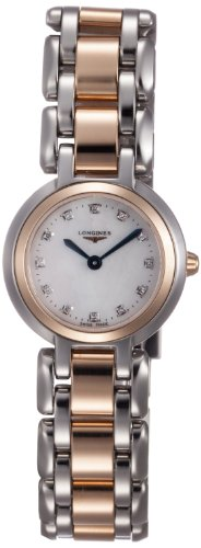 Longines Primaluna Mother of Pearl Dial Two-tone Stainless Steel Ladies Watch L8.109.5.87.6