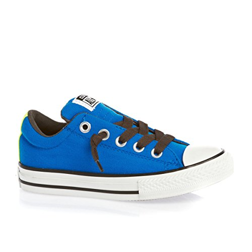 Converse CT All Star OX Street Slip Blue Youth Trainers Size 38 EU