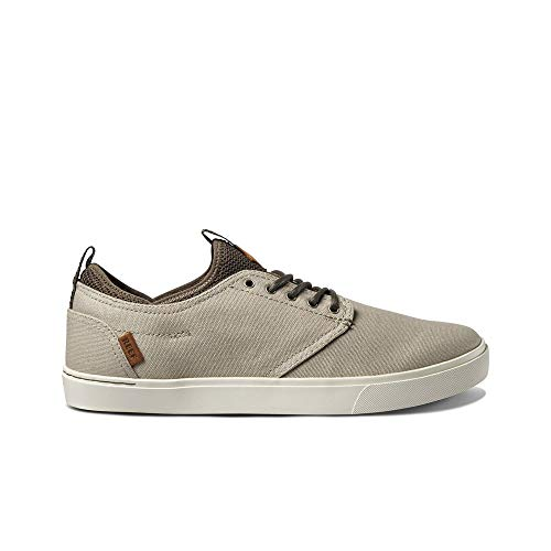 Reef Men's Discovery Skate Shoe, Sand/Natural, 11.5 M US