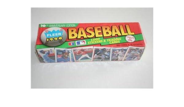 1990 Fleer Baseball Cards Complete Factory Sealed Set At