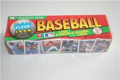 1990 Fleer Baseball Cards Complete Factory Sealed Set