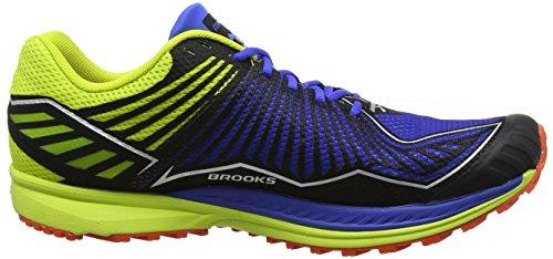 Brooks Uomini Mazama Scarpe Da Ginnastica Blu (blu Elettrico / Lime Punch / Pomodorini)