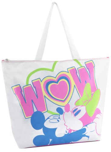 Disney Bolsa de playa, Minnie Carré Fluo, rosa - Rose fluo, D87315_Rose fluo_45