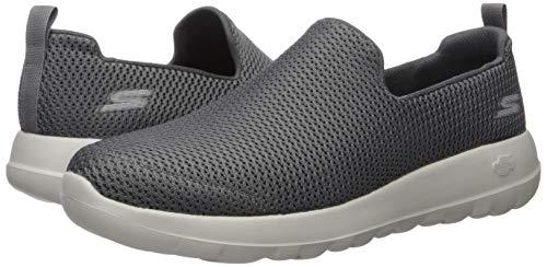 Skechers mens Go Walk Max-athletic Air Mesh Slip on Walking Shoe Sneaker, Charcoal, 8 X-Wide US