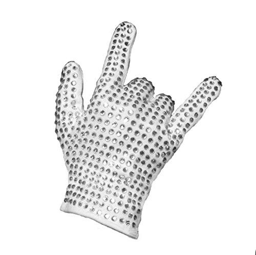 Himart MJ Billie Jean Jacket Cosplay Costume (Gloves, -