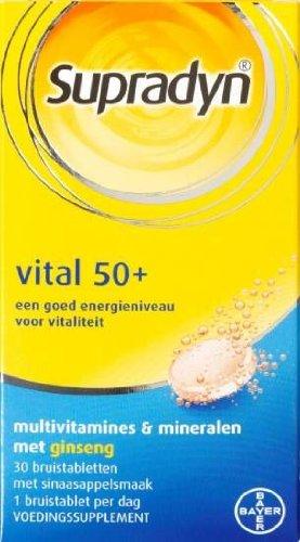 Supradyn Vital 50+ 30 Effervescent Tablets