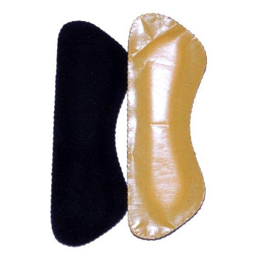 telmo® Antideslizante Soporte para Talón en negro 1par
