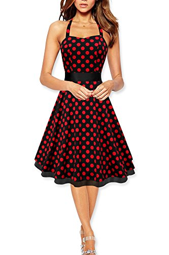 Black-Butterfly-Rhya-Vintage-Polka-Dot-50s-Dress