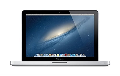 Apple MacBook Pro MD101LL/A 13.3-Inch Laptop (2.5GHz Intel Core i5 Dual-Core, 4GB RAM, 500GB HDD, Wi-Fi, Bluetooth 4.0) (Certified Refurbished)