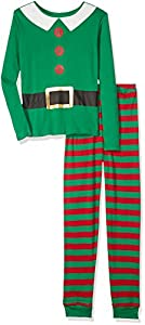 Crazy 8 Boys' Big Boys' Elf Graphic Tight-Fit Sleepwear
